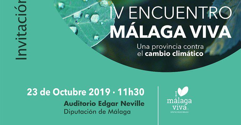 IV Encuentro Málaga Viva contra El Cambio Climático